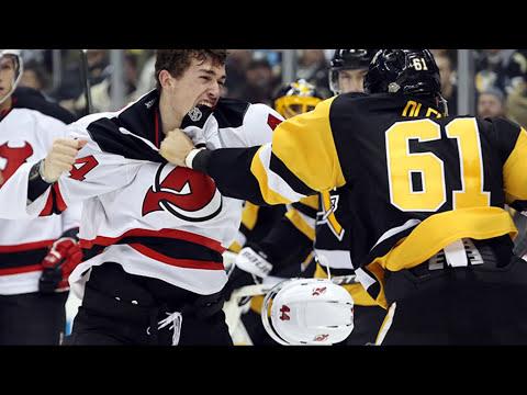Top Ten NHL Hockey Fights of December 2016