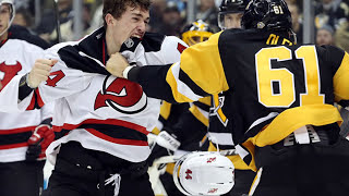 Top Ten NHL Hockey Fights of December 2016