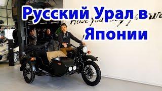 Зачем Японцам Русский мотоцикл Урал? Мотоциклы в Японии  ( 2019 | 4K )