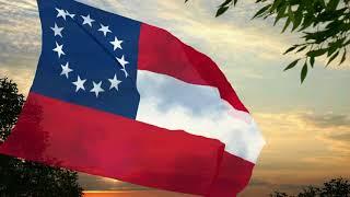Video CSA - Stars and Bars flag (1861-1863) download MP3, 3GP, MP4, WEBM, AVI, FLV Januari 2018