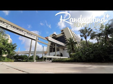 Walt Disney World - Staying At The Contemporary Resort!