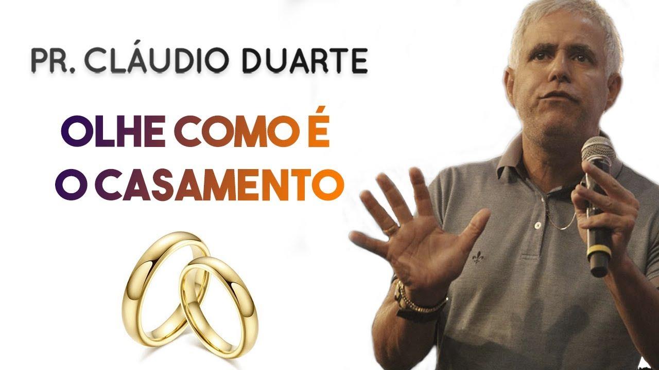 Pastor Cláudio Duarte - OLHE como é o CASAMENTO   Palavras de Fé
