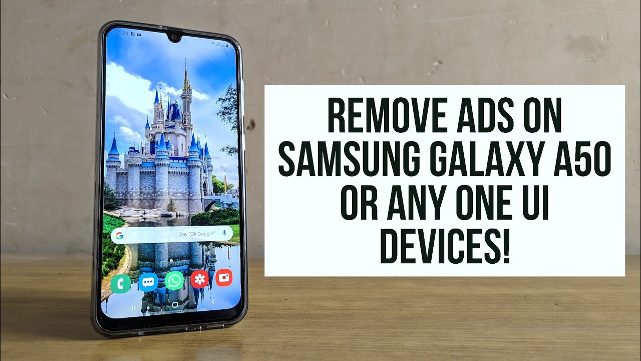 How to stop pop up ads in samsung a50