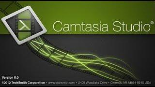 Обзор и Обучение пользования программы Camtasia studio 8
