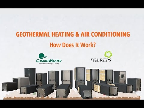 Geothermal Heating Cooling How Does It Work