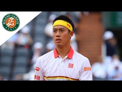 Kei Nishikori vs Benoit Paire - Round 2 Highlights I Roland-Garros 2018