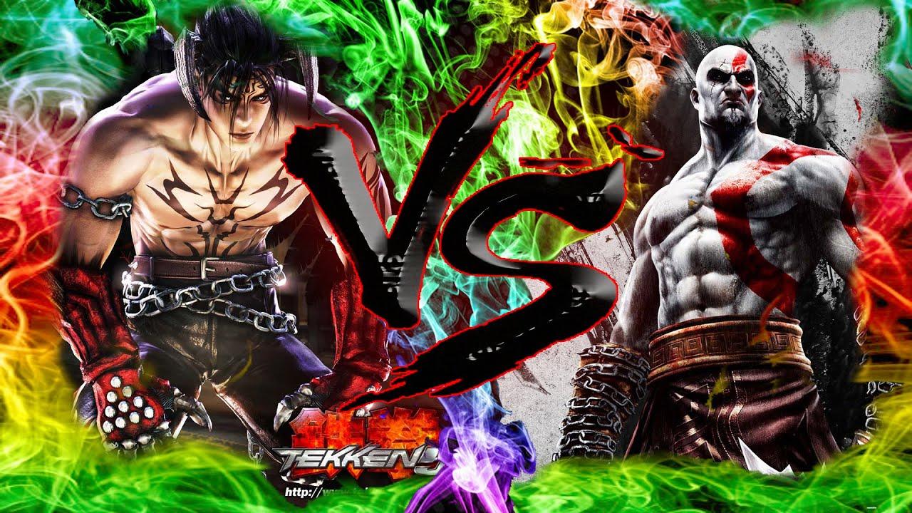 Kratos Vs Devil Jin Batallas De Gallos De La Frikimania1