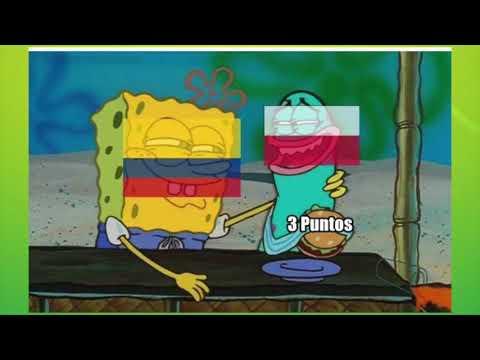 POLONIA VS COLOMBIA SUB 20 MEMES DEL RESUMEN 0-2 | POLONIA SIN GOLES
