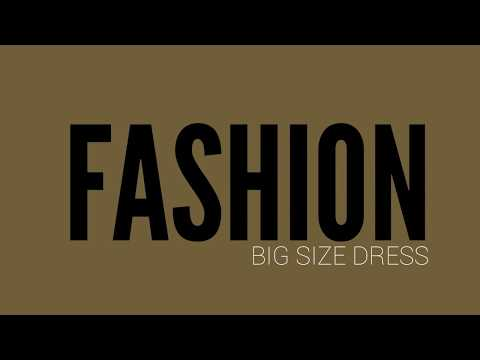 Fashion Big Size Dress Curvy Models. http://bit.ly/2JJu2X1