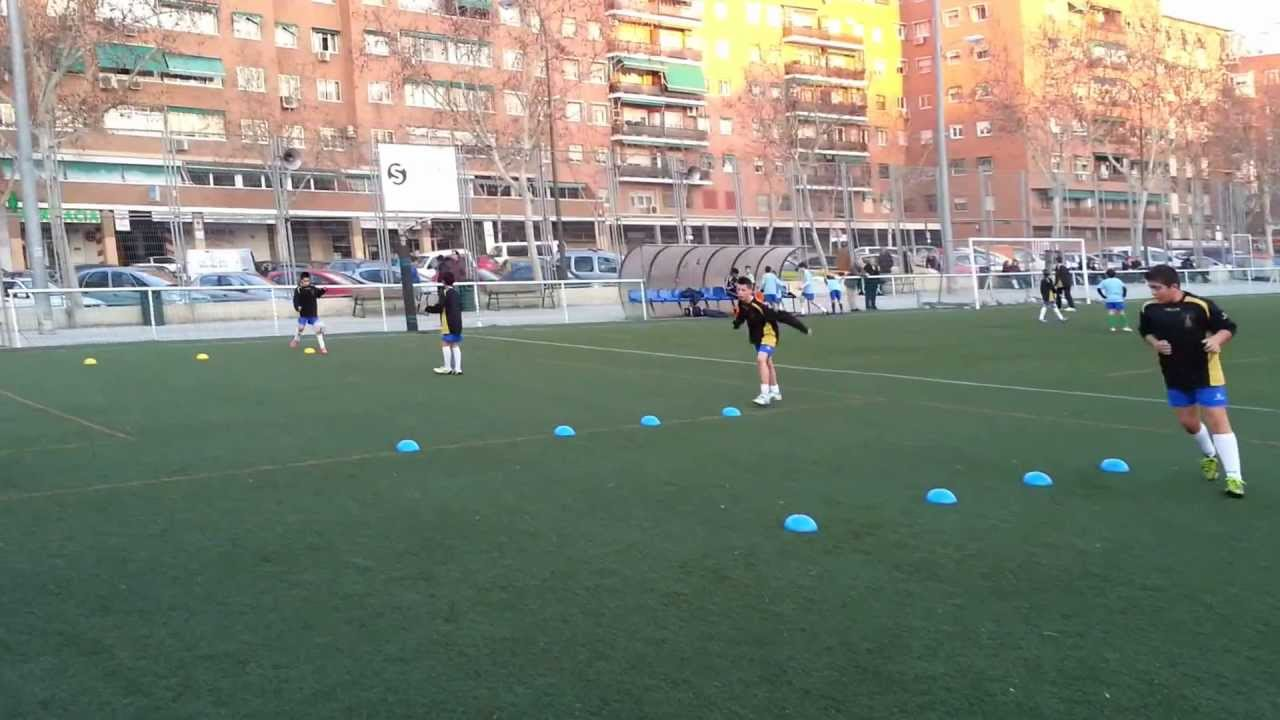 Circuito Tecnico Futbol : Circuito fisico tecnico por estaciones youtube