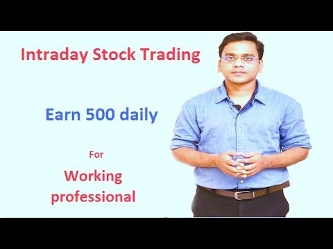 [Hindi]How to select stock for intraday trading in 1 min for working professional.