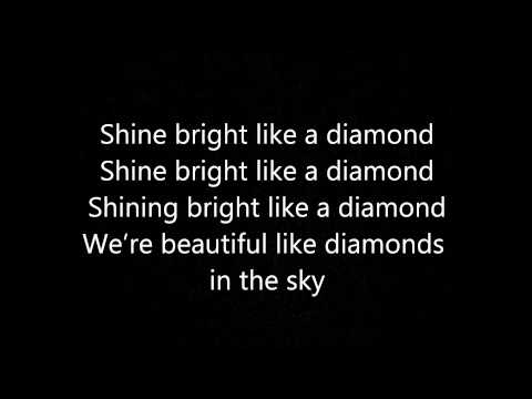 Rihanna- Diamond (In the sky) Lyrics from YouTube · Duration:  3 minutes 50 seconds
