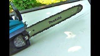 Не подається масло на ланцюг електропили Makita. Простий ремонт своїми руками