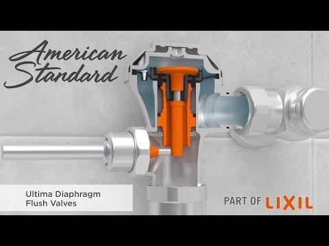 Ultima Diaphragm Flush Valves By American Standard