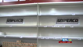 Nationwide Ammo Shortage Hurting Stores In Fort Wayne, Indiana