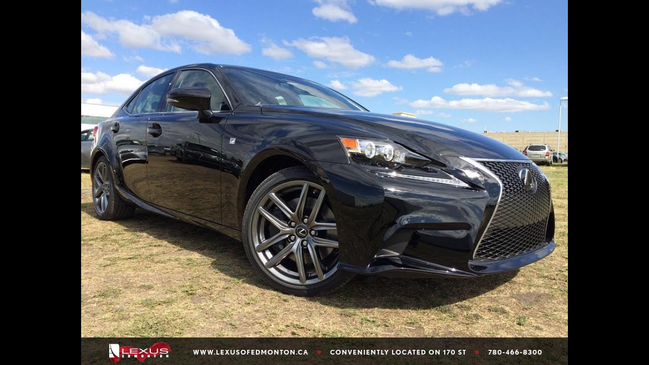 2016 Lexus IS 350 AWD F Sport Review - YouTube