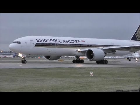 Manchester Airport | Runway 23L, Close Up Departures 04/01/13