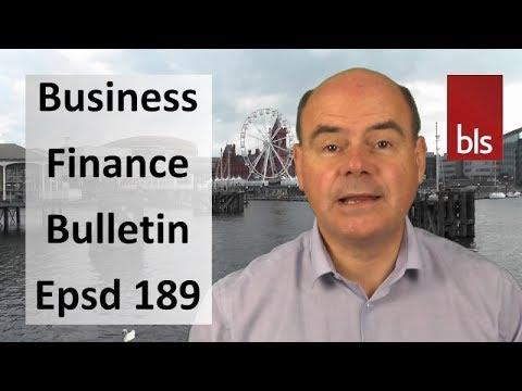 Interest Rates, Marketinvoice Business Loans & Enterprise Finance Guarantee  Scheme - BFB Epsd 189