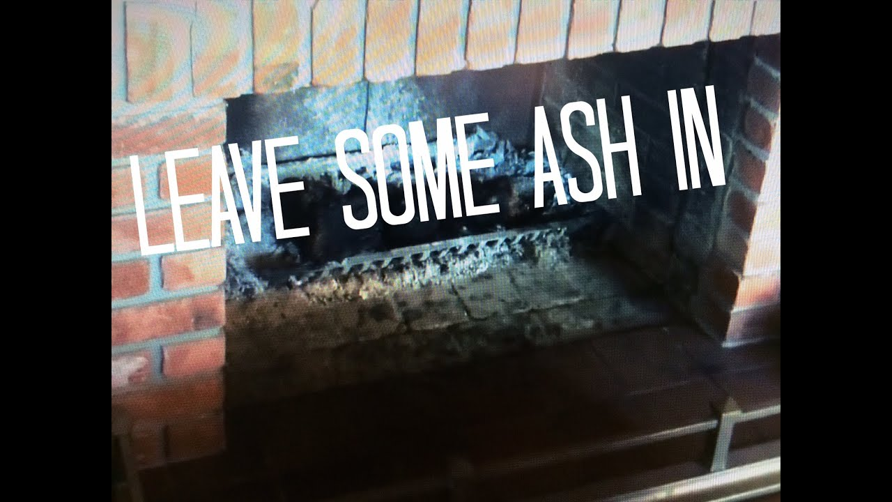 fireplace grate w ash left less smoke spillage better faster fires