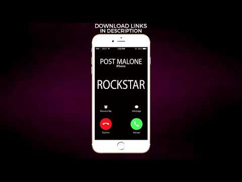 Rockstar Ringtone - Post Malone feat. 21 Savage