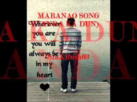 Maranao Song   Anda ka Dun
