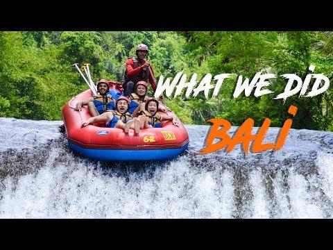 What We Did In Bali | Telaga Waja & Lembongan Island