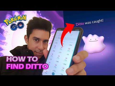CATCHING DITTO POKÉMON GO | HOW TO FIND DITTO EASILY WITH THE POKEMON NESTS 2020 | DraculVlad