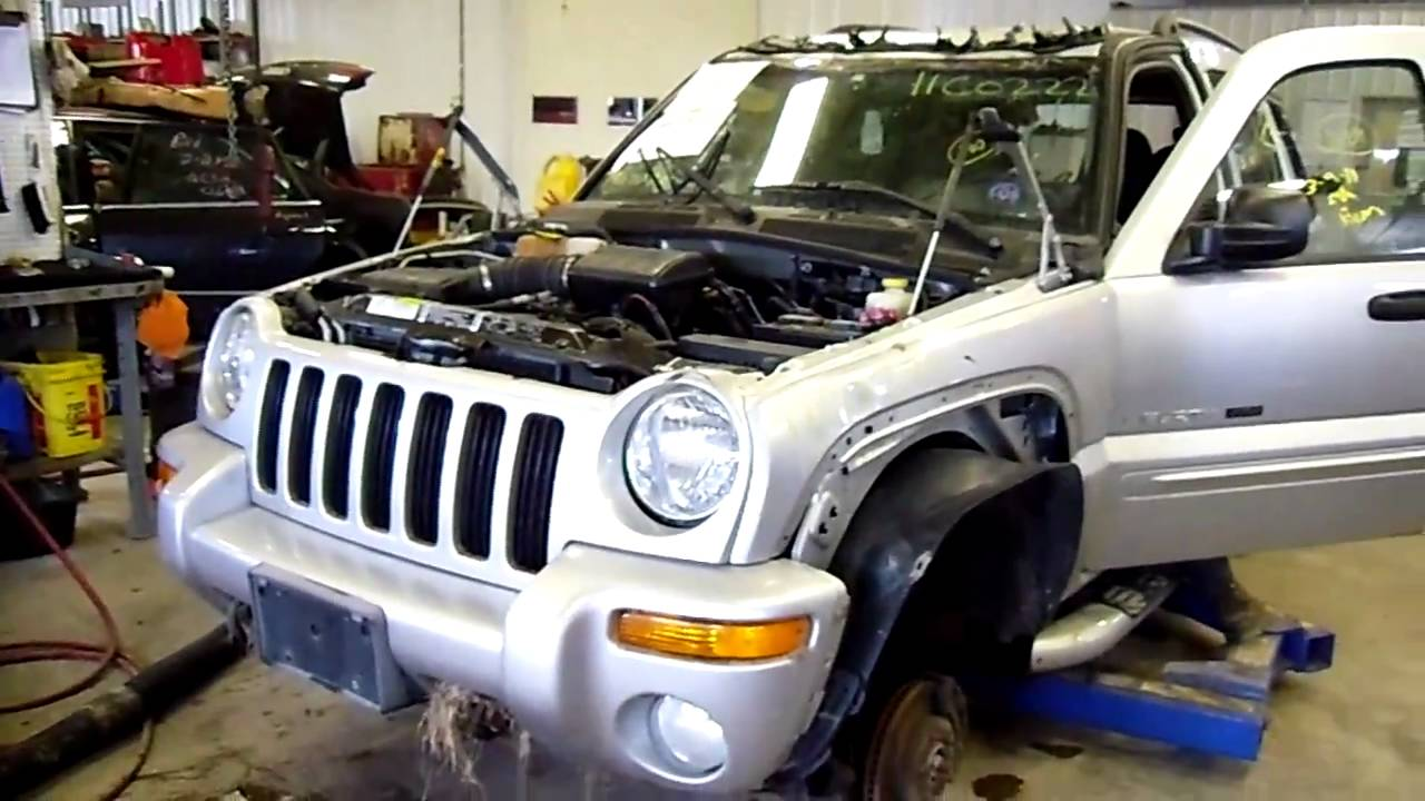 11c0222 2002 jeep liberty renegade 3 7 a t 4x4 136450 miles morrison 39 s auto salvage yard youtube. Black Bedroom Furniture Sets. Home Design Ideas