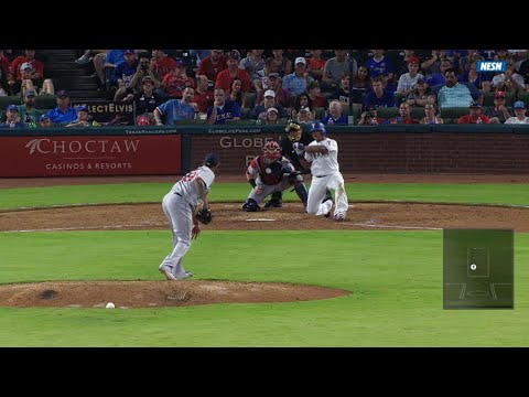 Abad brings Beltre to a knee with eephus