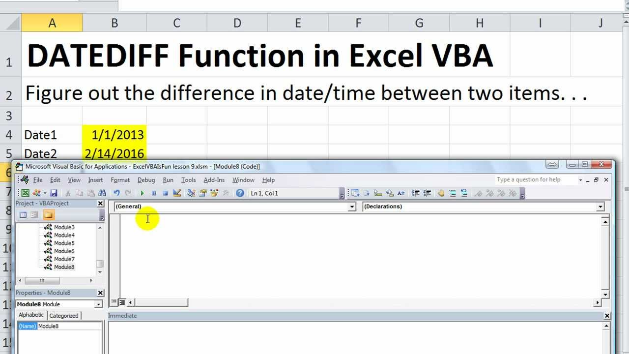100 Images of Datediff Vba