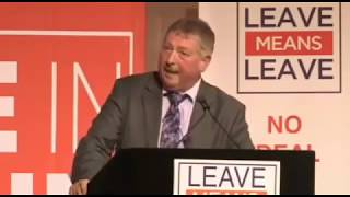 '£700k a page nearly!' Sammy Wilson DUP MP's amazing Brexit stand-up comedy show