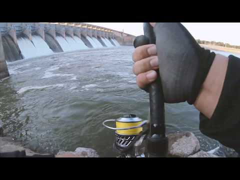 Striper Fishing | Dam Fishing In The Late Afternoon (The Bite Is HOT)  - OOW Outdoors