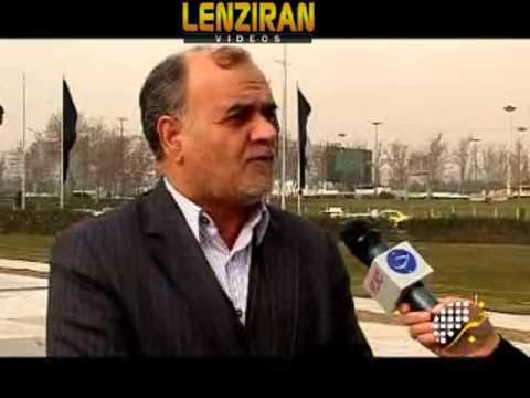 Tehran landmark Azadi tower is getting old ,  need maintenance
