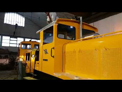 Italian Locomotive Project in Eritrea