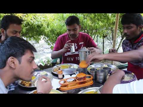 Unlimited Halal Non Veg And Veg Food not buffet with river and Lake View Nanital | Travel For Food