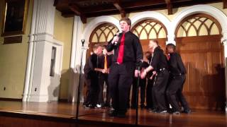 "Ursinus College Bearitones 2013: ""Tainted Love"" (Soft Cell)"