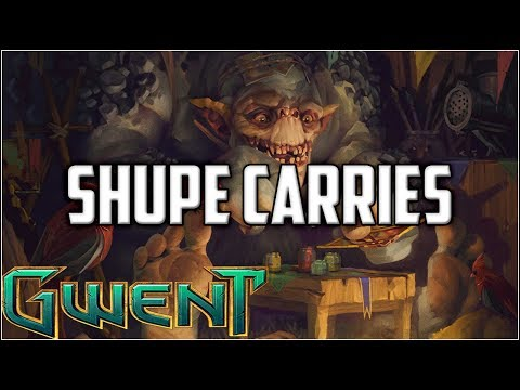 Gwent 9 Win Arena Shupe + Crap Deck ~ Gwent Arena Mode Gameplay Part 2