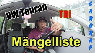 VW Touran - 2008 - Mängelliste / List of defects / Gebrauchtwagencheck