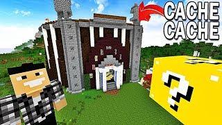 CACHE CACHE LUCKY BLOCK CHALLENGE ! | Minecraft !