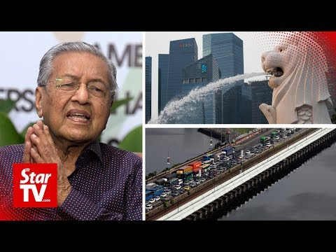 Dr Mahathir: Singapore will lose if water issue goes to court