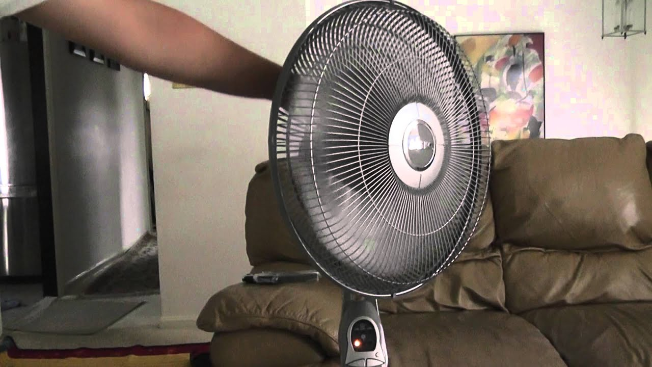 Stand Fan Model : Quot lasko oscillating stand fan model youtube
