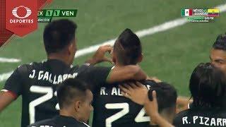Gol de Alvarado | México 1 - 1 Venezuela | Partido Amistoso - Televisa Deportes