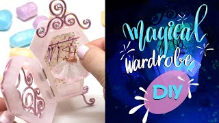 Magical wardrobe- Glow in the dark- The Elves Box- Sophie & Toffee