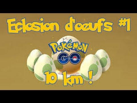 eclosion d 39 oeuf 10km 5km 2km pokemon go youtube. Black Bedroom Furniture Sets. Home Design Ideas