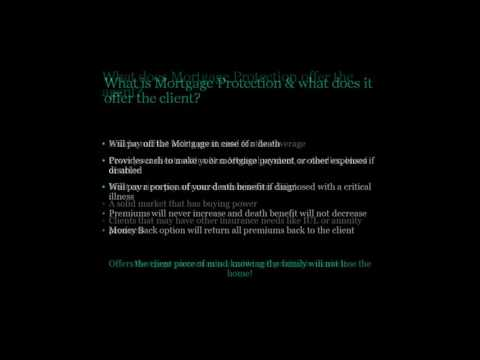 SAA Introduction to Mortgage Protection