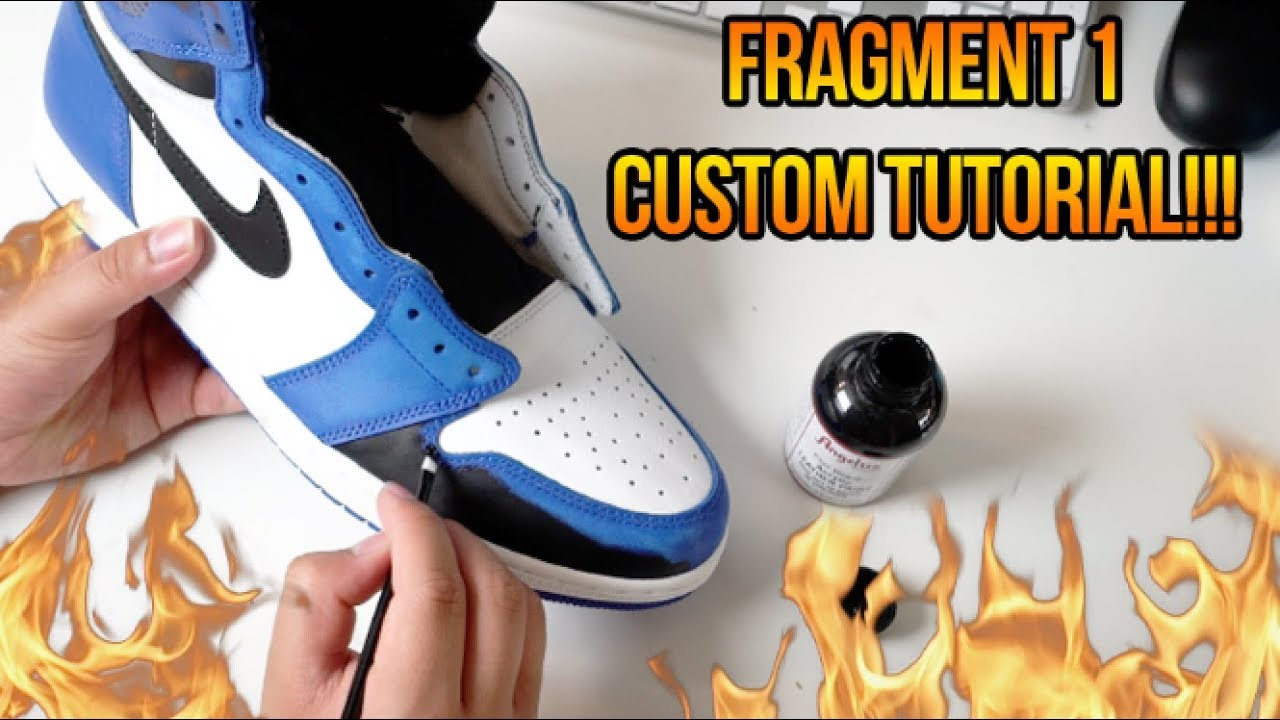a5285df9cd4 HOW TO MAKE THE AIR JORDAN 'FRAGMENT' 1 IN LESS THAN 3 HOURS!!! (SUPER EASY)