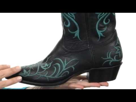 adfd7893bfa Tony Lama Signature Series Embroidered Floral Boot SKU:#7793571
