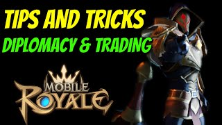 Diplomacy And Trading - Mobile Royale