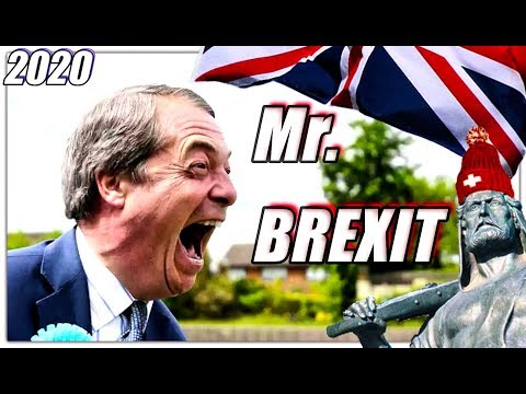 Mister BREXIT Nigel Farage | Bye Bye EU !