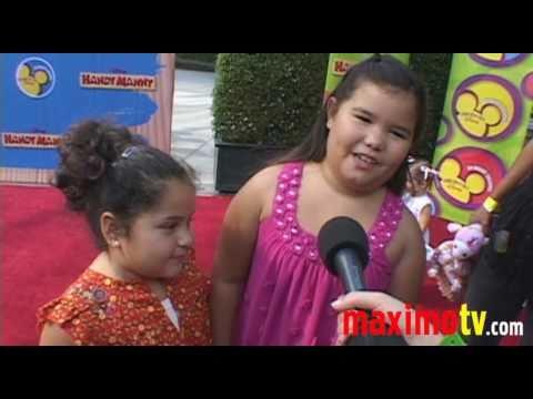 Madison De La Garza, Daniella Baltodano at 'Handy Manny Motorcycle Adventure' Premiere